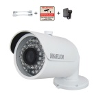 HOSAFE 2MB10W 2.0MP 1080P HD IP Camera w/ POE Kit - White (US Plugs)