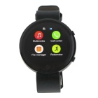 "BT360 1.22"" IPS Smart Bluetooth Smart Watch w/ SIM, TF for IOS and Android Phones - Black"