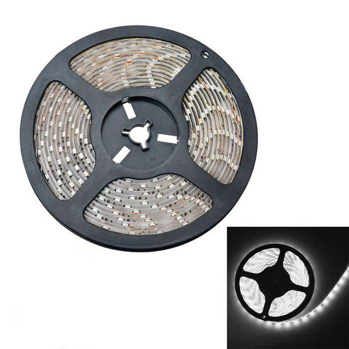JIAWEN Waterproof 36W 300-SMD LED Light Strip Cold White 2900lm (5m)