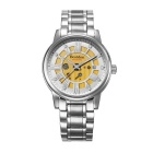 Bestdon 7109G Men's Waterproof Self-Winding Watch - Silver + White