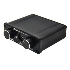 A926 4-In 2-Out Audio Switcher Amplifier Headphone Signal Amp - Black