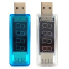 USB Powered Charging Current & Voltage Tester Detector Meter (2PCS)
