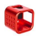 Aluminum Alloy Cage Housing Case for GoPro Hero 4 Session - Red