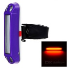 leadbike USB Powered 30-LED 3-Mode Red Light Bike Light - Purple
