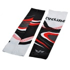 Mountainpeak Cycling Sun Blocking Polyester Arm Sleeves - Black (L)