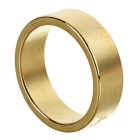 Magic Trick Prop Patterned Magnetic Ring - Golden (Size: L)