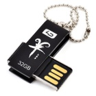 L.Data LD Wasserdicht Anti-Shock USB 2.0 Flash Drive - Schwarz (32 GB)