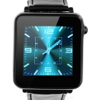 "Fashion L1 Bluetooth V3.0 Smart Watch w/ 1.54"", Sensing Pedometer for IPHONE, Samsung, LG - Black"