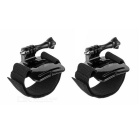 Arm Band for Gopro HERO 4, HERO4 Session, 3+, 3, 2 - Black (2 PCS)