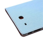 PU Leather Wallet Case for Samsung Galaxy Tab E 9.6 T560 - Light Blue