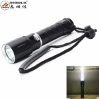 ZHISHUNJIA Q11-T6 XM-L LED Cool White Light Diving Dimming Flashlight - Black (3.7V)
