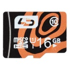 L.Data LD C10 Super High Speed MicroSD Card for Car DVRMonitoring Camera, Phone (16GB/UHS-I)