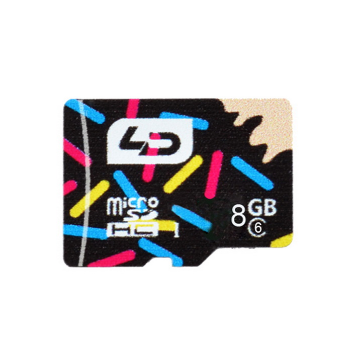 l.data LD C6 super high speed micro SD-kaart (8GB UHS-I)