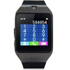 "LG118 Bluetooth Smart Watch Phone w/ 1.54"" Screen / Camera - Black"