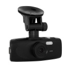 "2.7"" 140 Degree Wide Angle G1WH Full HD Car DVR Camera Recorder w/ G-sensor - Black"