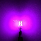 MZ T10 2W Car LED Luggage Compartment / Clearance Lamp Purple 4-SMD