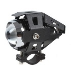 30W Motorcycle Headlight Spotlight Fog Lamp Cool White Light 6500K 2000lm w/ Taillight (12-80V)