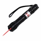 KF-602 Red Light Laser Pointer w/ Clip - Black + Grey
