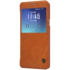 NILLKIN QIN serie PU + PC-behuizing voor Samsung Galaxy Note 5 - brown