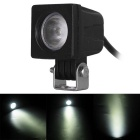 10W 1-LED 60 Degrees Square Flood Beam Car Work Light 6000K 850lm (DC 10~30V)