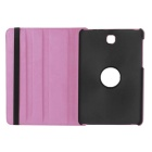 "Lichee Pattern PU Case w/ Stand for Samsung Tab S2 8.0"" - Pink"