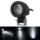 10W 850lm Flood Beam LED Round Car Work Light / Foglight (DC 10~30V)
