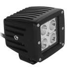12W 1200lm 4-LED White Spot Light Working Lamp for Offroad Car