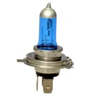 H4 P43T 55W 6000K 1500lm Super White Halogen Fog Light Bulb for Car / Motorcycle (DC 12V)