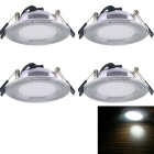 YouOKLight 3W 220lm 3-LED White Ceiling Lamp (AC 180-240V / 4PCS)