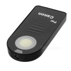 Wireless Infrared Shutter Remote Control for Canon DSLR Camera - Black