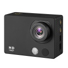 "A3 HD 1080P Waterproof 2MP Sports Digital Camera w/ 2"" TFT / CMOS / 120' Wide-Angle Lens - Black"