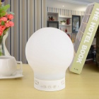 S10 Smart Rechargeable Bluetooth V4.0 Speaker Magic LED Table Desk Lamp w/ Hands-Free - White