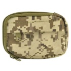 800D nylon waterbestendig mini outdoor-accessoires tas / carry-on change wallet - camouflage