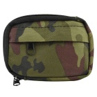 800D Nylon Water Resistant Mini Outdoor Accessories Bag / Carry-on Change Wallet - Camouflage