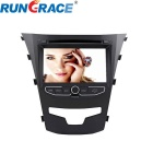 Rungraace 7-inch 2 Din In-Dash Car DVD Player for Ssangyong Korando With BT, GPS, RDS, RL-920WGNR02