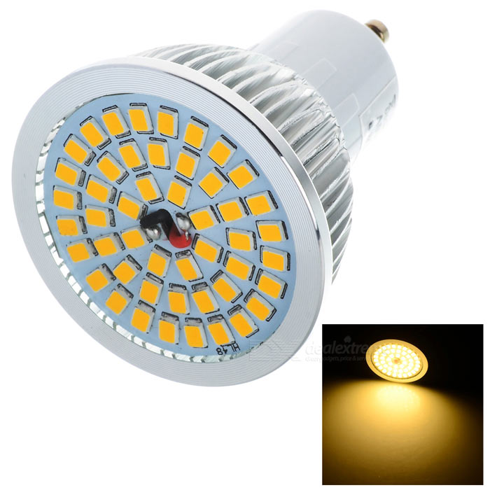 LeXing Lighting Dimmable GU10 7W LED Spotlight Bulb Warm White 48-SMD