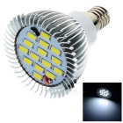 Lexing Beleuchtung Dimmbare E14 6W LED Scheinwerfer-Birnen-Cool White 7000K 0 ~ 378lm 15-SMD 5730 (220 ~ 240V)