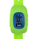 2015 Smart GPS Watch Positioning of Mobile Phone Tracker for Kids Child Older - Green