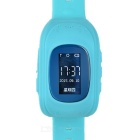 2015 Smart GPS Watch Positioning of Mobile Phone Tracker for Kids Olders - Light Blue