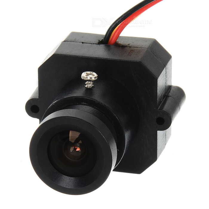 700TVL 90~120' PAL CVBS Signal 5.0MP 3.6mm Lens FPV Camera - Black