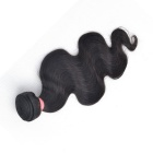Unprocessed Virgin Human Hair Natural Black Hair Body Wave 100g/pc (10inch/27cm)