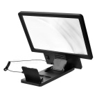 Cwxuan Universal Portable Phone Screen Magnifier w/ Speaker - Black