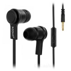 KEEKA Universal 3.5mm Wired In-Ear Earphones Headphones for IPHONE / Samsung & More - Black