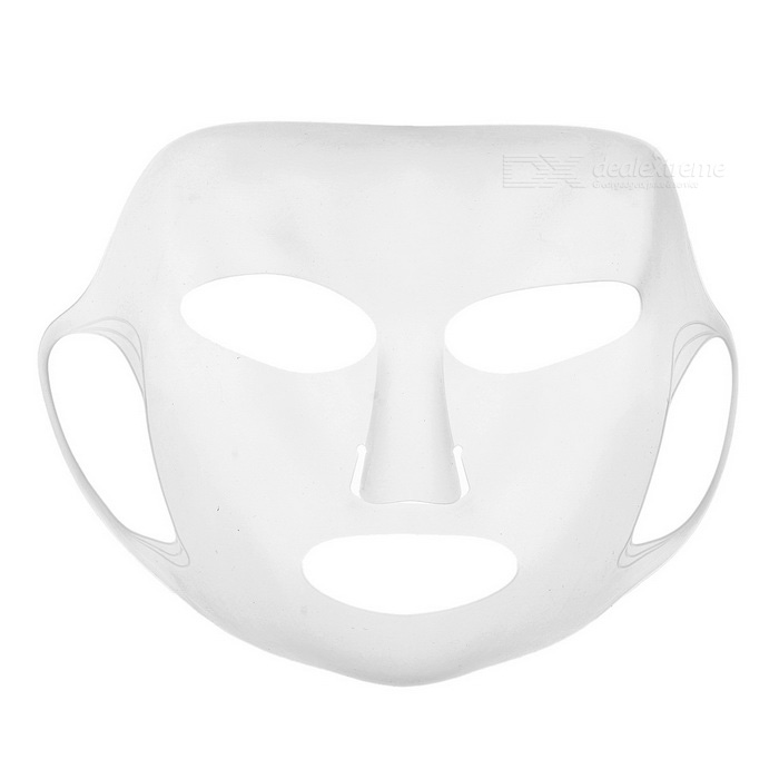 Reusable Silicone Mask Cover for Sheet Mask - Transparent White