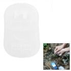 Portable Hand Soap Sheet Paper for Travel - White