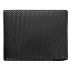 Men's Fashion Casual Short Style PU Leather Wallet Purse - Black