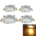 YouOKLight 4PCS 3W 3000K 220lm Warm White 15-SMD 2835 LED Ceiling Light Lamp (AC 90~265V)