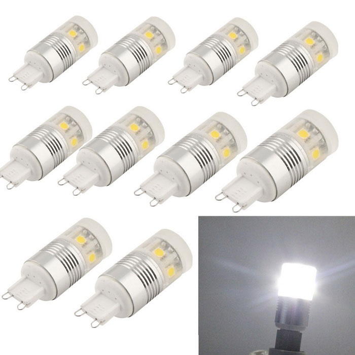 YouOKlight YK1440 G9 3W 180lm LED Cool White Light Lamps (10PCS)