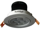 Lámpara del techo del youoklight 4PCS 7W 7-LED blanco caliente 600lm con el conductor del LED