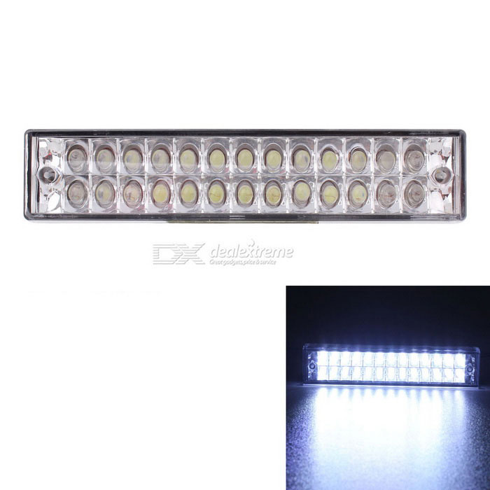 MZ Universal 5W White 26-LED Flashing Car Tail Brake / Reverse Light